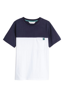 Block-coloured T-shirt